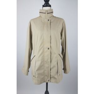 Mackintosh Womens Jacket Small Beige Coat A82-14Z